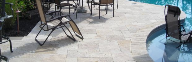 Travertine Patios